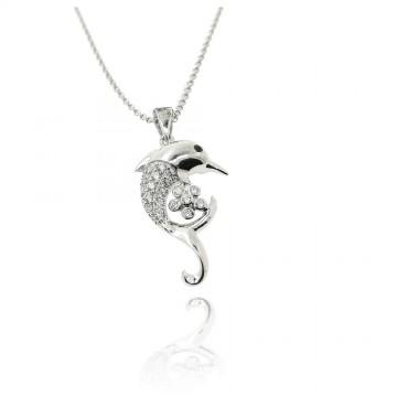 Medalha golfinho de prata...