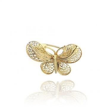 Medalha/Alfinete borboleta...